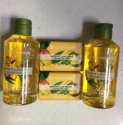 Gel, soap