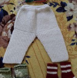 Warm children's clothes