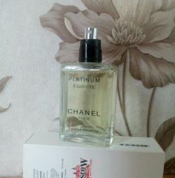 Orijinal test cihazı Chanel Egoiste Platinum