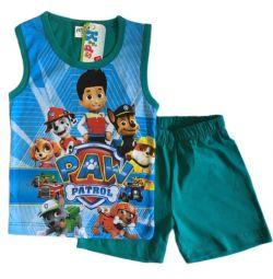 Costum pentru baieti Paw Patrol