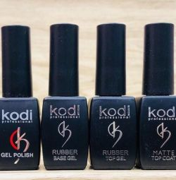 A set of gel varnishes Kodi (Cody)