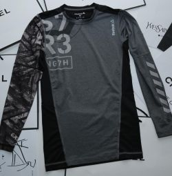 T-shirt for fitness with long sleeves new