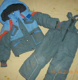 Χειμερινό κοστούμι για 2-3 χρόνια.
