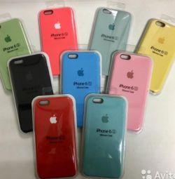 Θήκη σιλικόνης iPhone 5s, 6, 7, 8, X