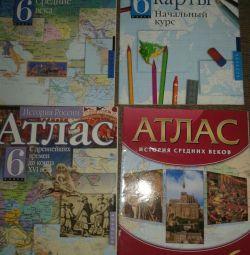 Atlasuri și harta conturului