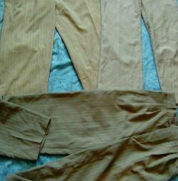 Брюки летние мужские пакетом.