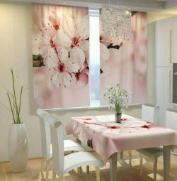 Photocurtains for the kitchen