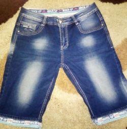 Pantaloni din denim pentru bărbați, mărimea 46-48