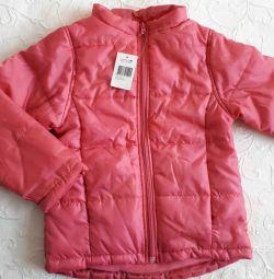 Нова куртка р.128 на дівчинку