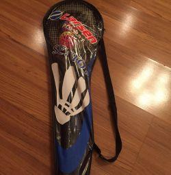 Badminton racket 2pcs new