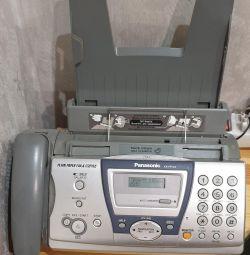 Факс- телефон.