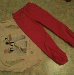 Sweatshirt and pants 122