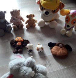 Favorite soft toys