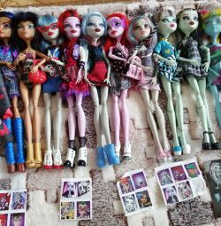 Original. Monster High dolls.