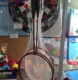 Badminton 2 rachete + navetă
