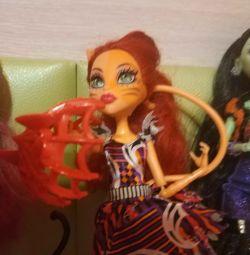 Doll monster high.Toralei sport
