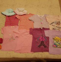 Πακέτο ρούχων για ένα κορίτσι