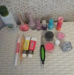 Set for manicure