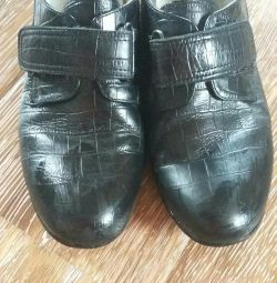 Leather shoes used little