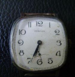 """Ceasul pentru bărbați """"Victory"""". URSS."""