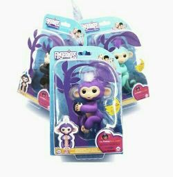 INTERACTIVE MONKEY FINGERLINGS