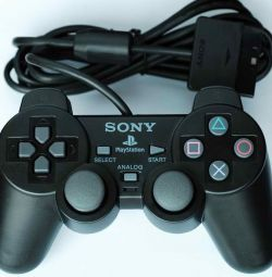 Joystick playstation 2 black, new, pack