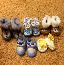 Παπούτσια από 0 μηνών