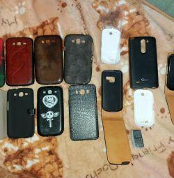 Чохли по 50руб на Самсунги нокії і OLG телефони