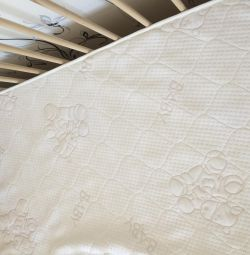 Mattress for baby cots