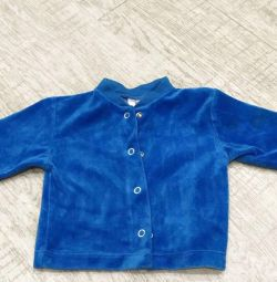 Fleece jacket for children, 62-68