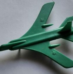 Toy USSR Airplane Bomber 1970s
