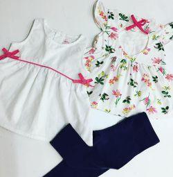🌸 Μάρκες μπλούζες + γκέτες 1-2 g💘