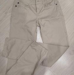 Pants beige new 42r