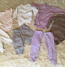 Things new and used 3-6m Mothercare, UniQlo, H & M, Joy