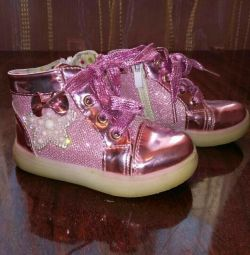 Sneakers for girls. Used size 24