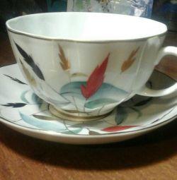 Çay çifti LFZ porselen.
