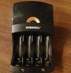 Charger for finger batteries