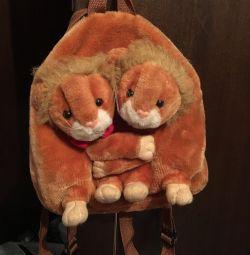 Рюкзак детский мягкий