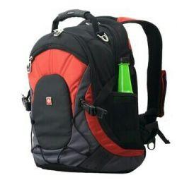 Sırt çantası Swisswin SW9663 turuncu, orijinal