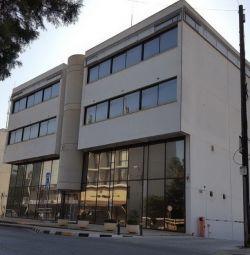 Lefkoşa'nın Vyzantiou Caddesi'ndeki ofisler