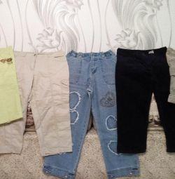 Capri pants, breeches, shorts size 44-46.