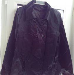 Kısa ipek ceket