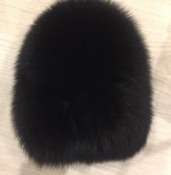 Knitted fur hat New