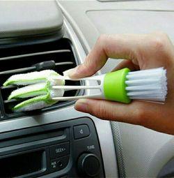Щетка для чистки авто и уборки. Новая