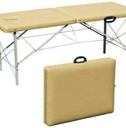 πτυσσόμενο τραπέζι μασάζ για ενοικίαση