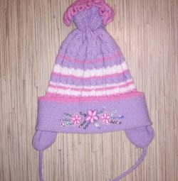 Children's hat for 1 - 1.5 years