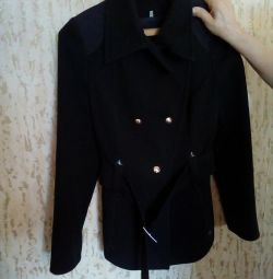 Пальто жіноче чeрное