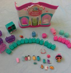 Магазин и игрушки shopkins