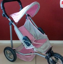 Stroller for dolls, very stable