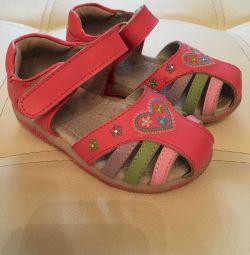 Sandals for the garden